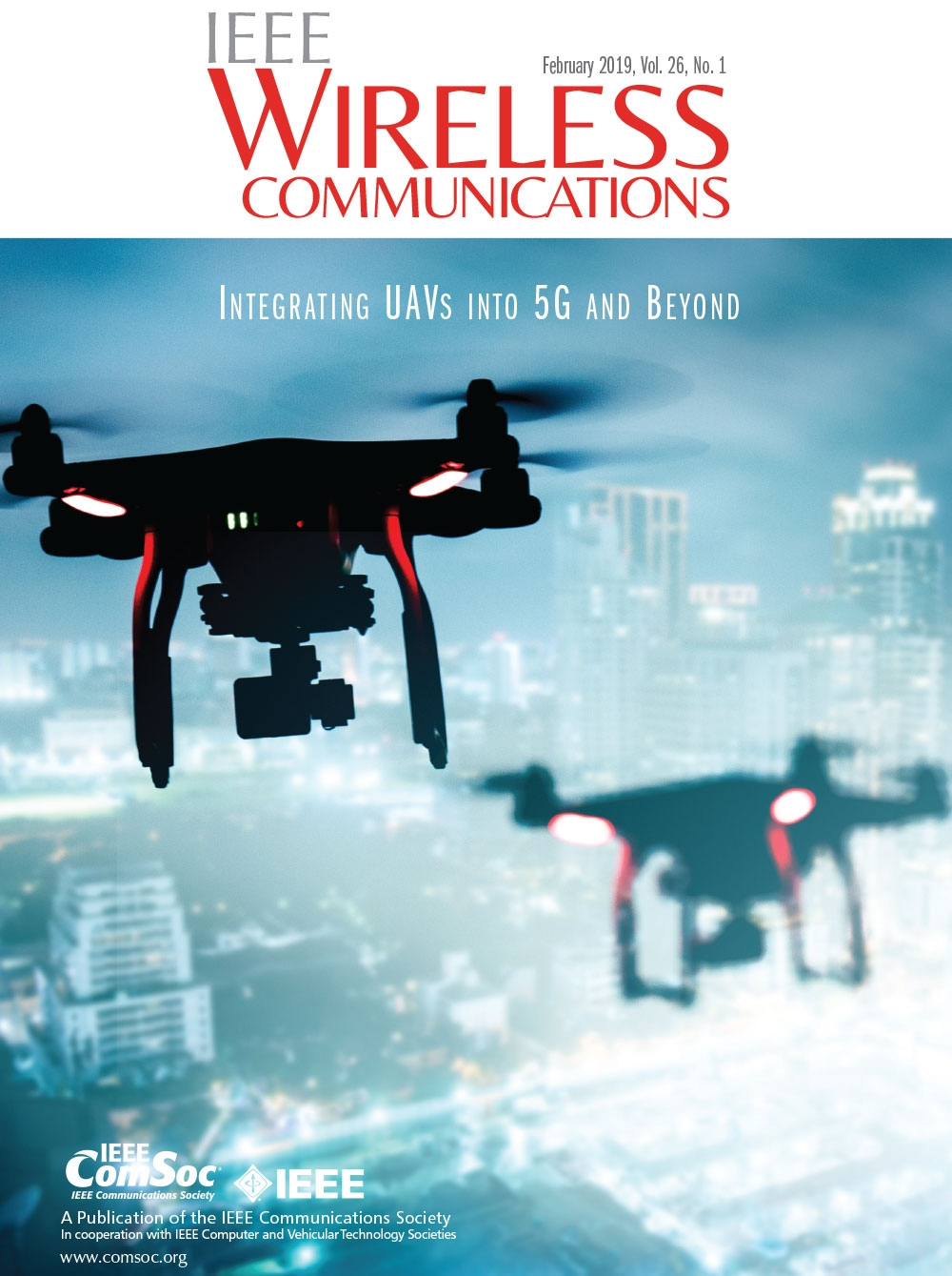 Cover of IEEE Wireless Communications