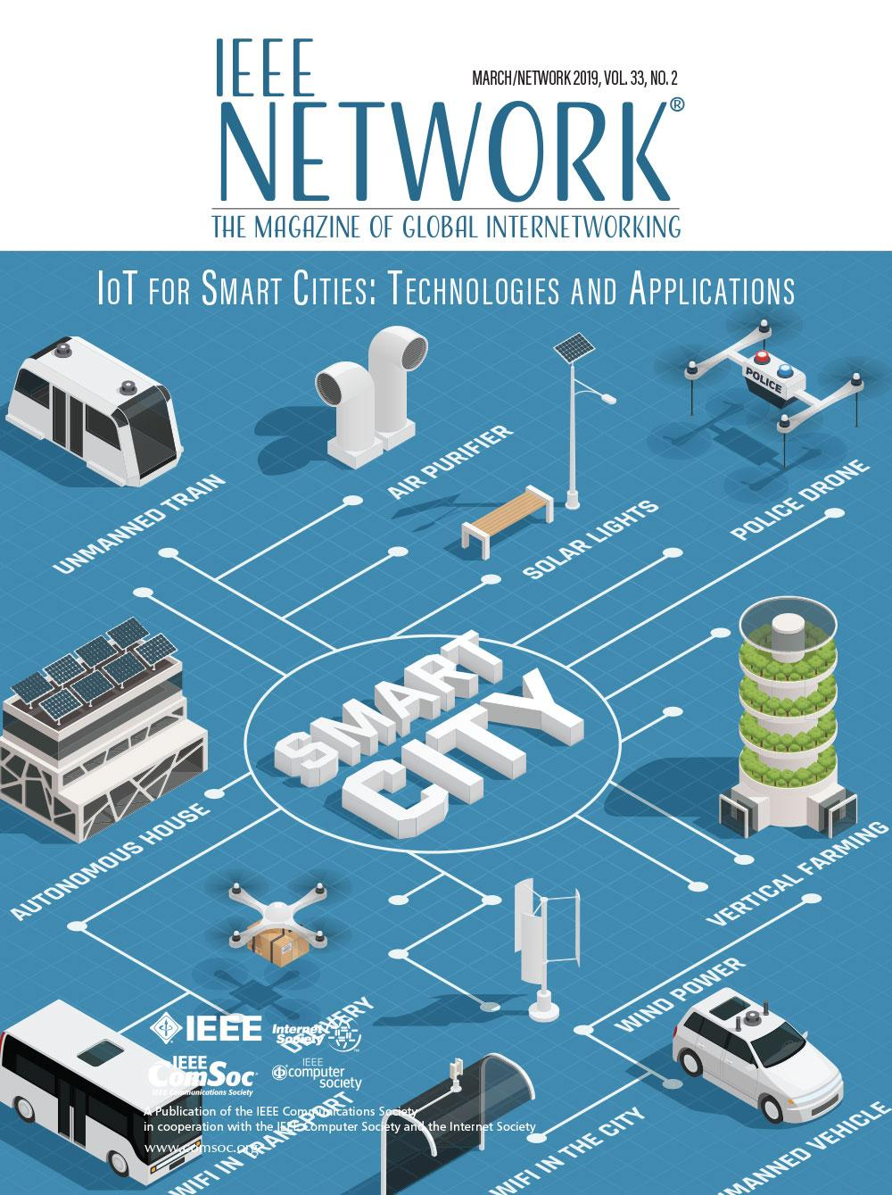 Cover of IEEE Network