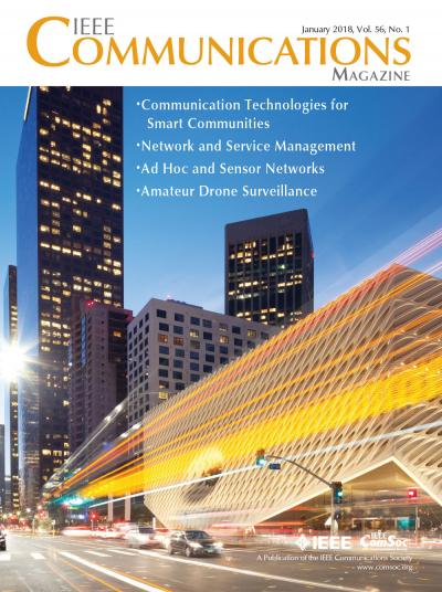IEEE Communications Magazine January 2018 Cover