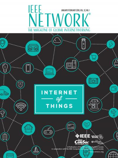 IEEE Network January 2018 Cover Image