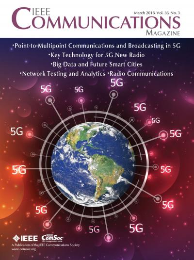 IEEE Communications Magazine March 2018 Cover