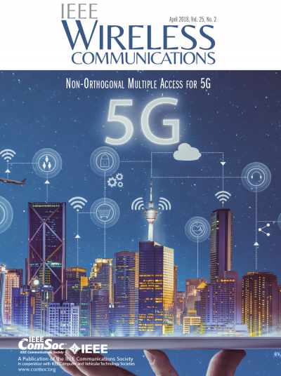 IEEE Wireless Communications April 2018 Cover