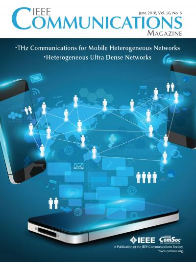 IEEE Communications Magazine June 2018 Cover