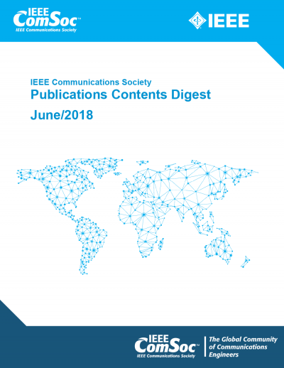 Publications Contents Digest June 2018 Cover