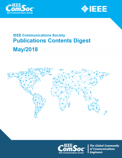 Publications Contents Digest May 2018 Cover