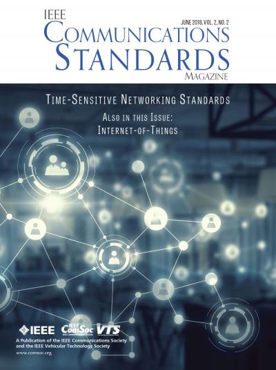IEEE Communications Standards Magazine June 2018 Cover
