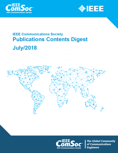 Publications Contents Digest July 2018 Cover