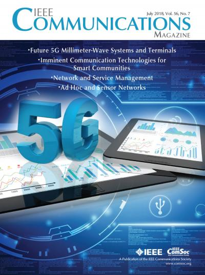 IEEE Communications Magazine July 2018 Cover
