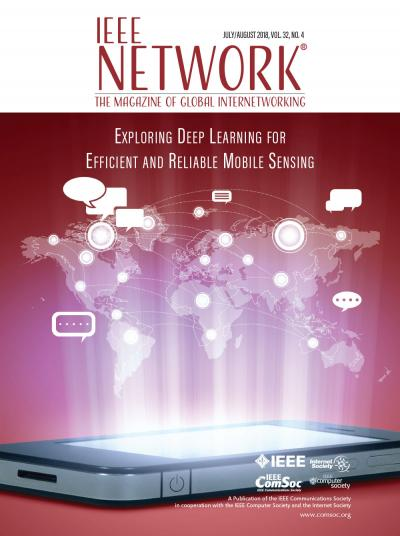 IEEE Network July 2018 Cover Image