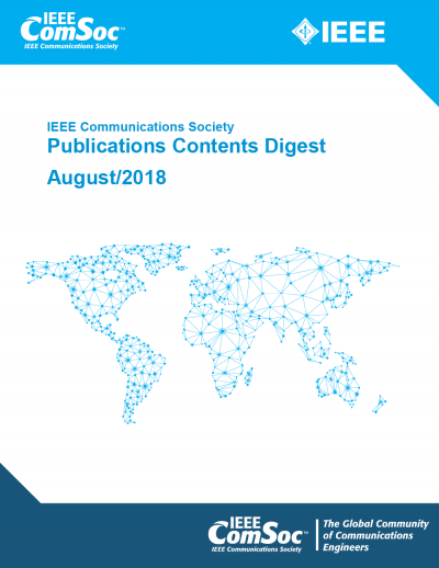 Publications Contents Digest August 2018 Cover