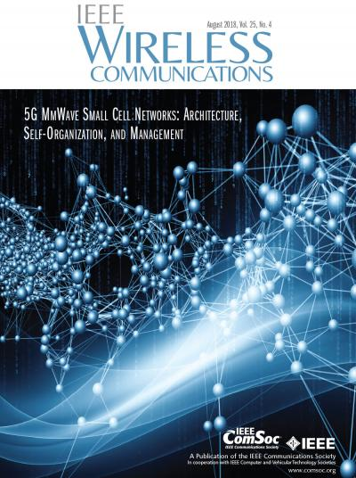 IEEE Wireless Communications August 2018 Cover