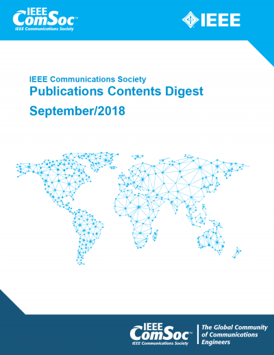 Publications Contents Digest September 2018 Cover