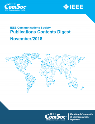 Publications Contents Digest November 2018 Cover