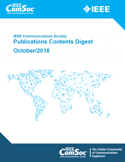 Publications Contents Digest October 2018 Cover