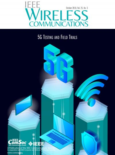 IEEE Wireless Communications October 2018 Cover