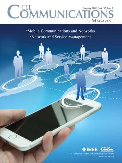 IEEE Communications Magazine January 2019 Cover