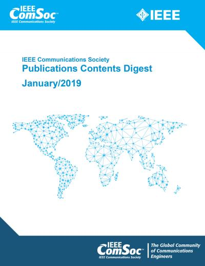 Publications Contents Digest January 2019 Cover