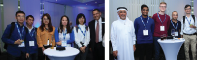 Figure 3: Networking with Leaders event in GLOBECOM, UAE, Dec. 2018.