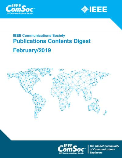 Publications Contents Digest February 2019 Cover