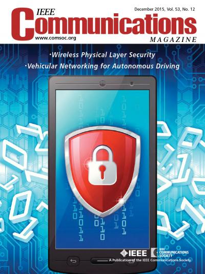 IEEE Communications Magazine December 2015 Cover