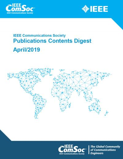 Publications Contents Digest April 2019