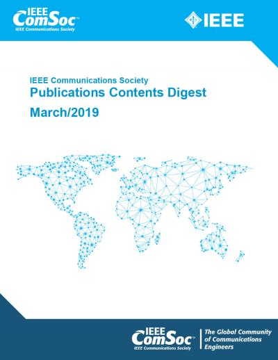 Publications Contents Digest March 2019 Cover