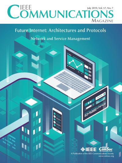 IEEE Communications Magazine July 2019 Cover