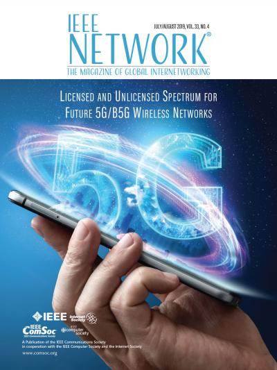 IEEE Network July 2019 Cover