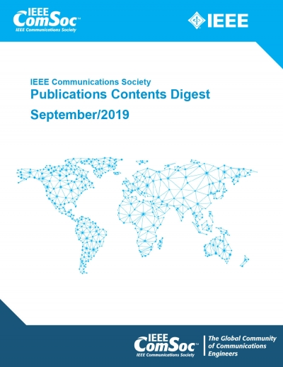 Publications Contents Digest September 2019 Cover