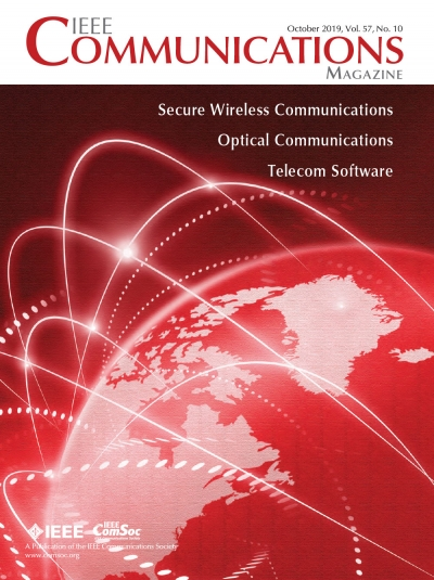 IEEE Communications Magazine October 2019 Cover