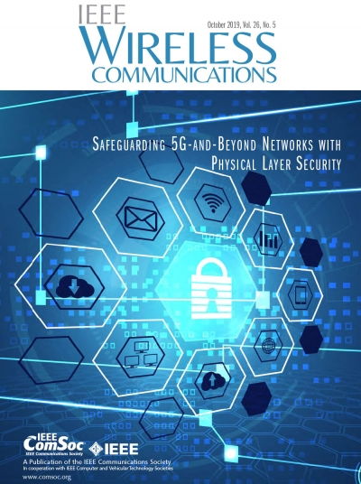 IEEE Wireless Communications October 2019 Cover