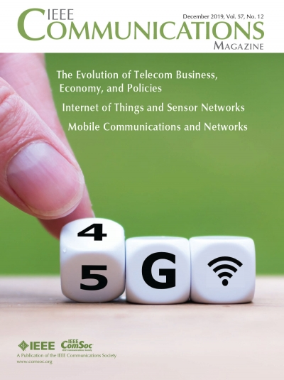 IEEE Communications Magazine December 2019 Cover