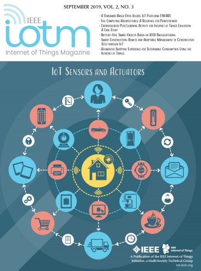 IEEE Internet of Things Magazine September 2019 Cover