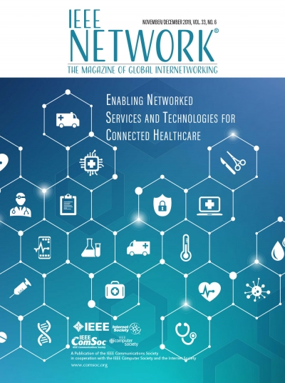 IEEE Network November 2019 Cover