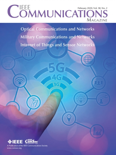 IEEE Communications Magazine February 2020 Cover