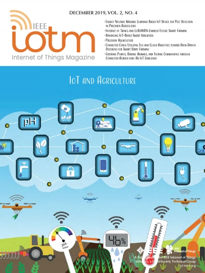 IEEE Internet of Things Magazine December 2019 Cover