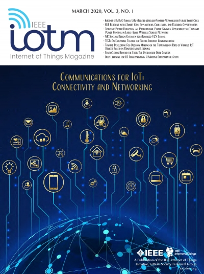 IEEE Internet of Things Magazine March 2020 Cover