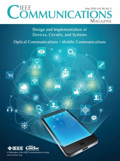 IEEE Communications Magazine May 2020 Cover