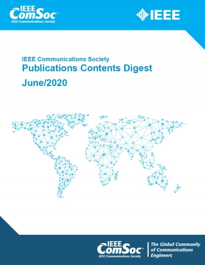 Publications Contents Digest June 2020 Cover
