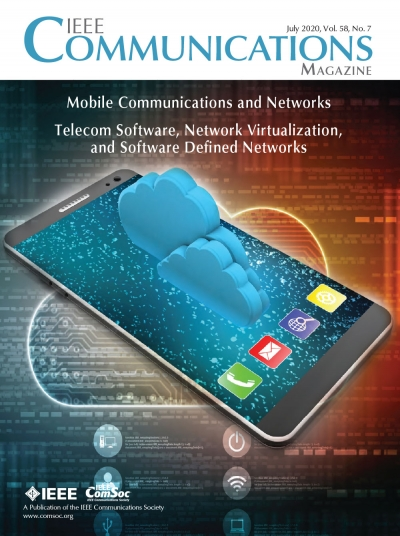 IEEE Communications Magazine July 2020 Cover