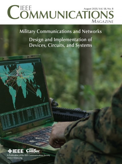 IEEE Communications Magazine August 2020 Cover