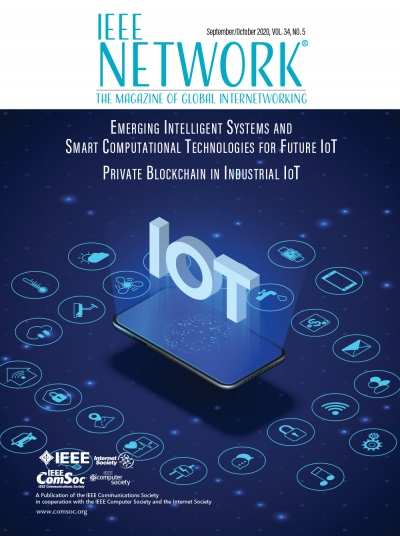 IEEE Network September 2020 Cover