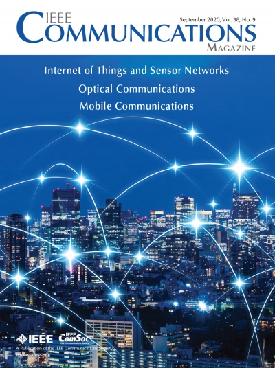 IEEE Communications Magazine September 2020 Cover