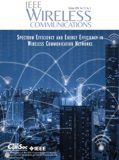IEEE Wireless Communications October 2020 Cover