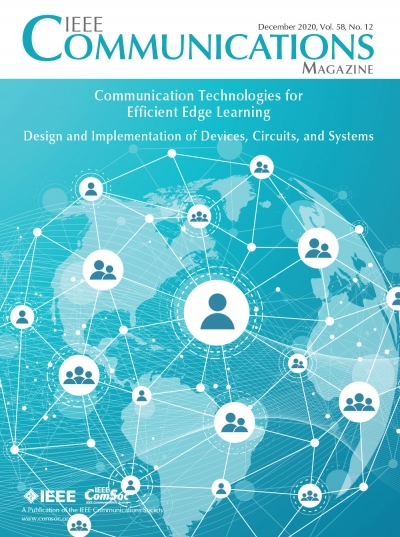 IEEE Communications Magazine December 2020 Cover