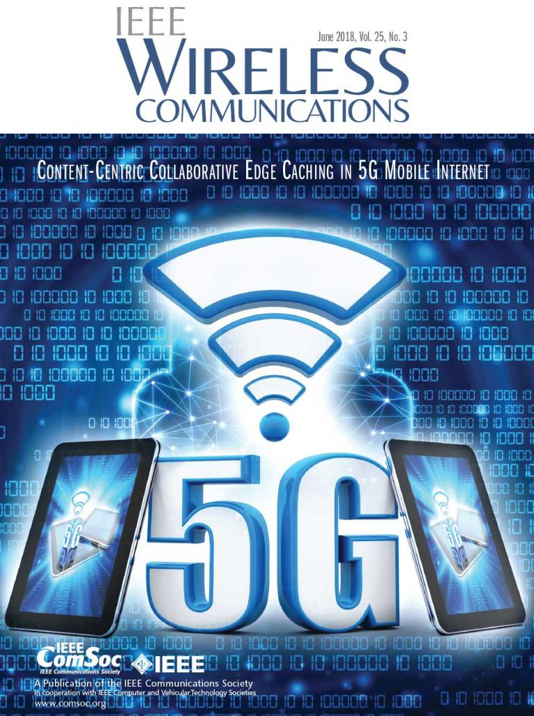 IEEE Wireless Communications June 2018 Cover
