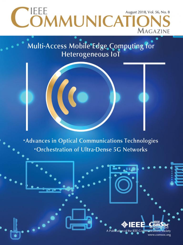 IEEE Communications Magazine August 2018 Cover