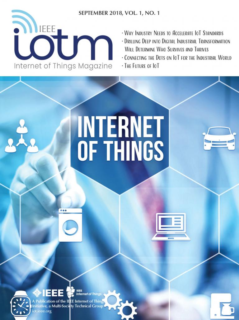 IEEE Internet of Things Magazine September 2018 Cover