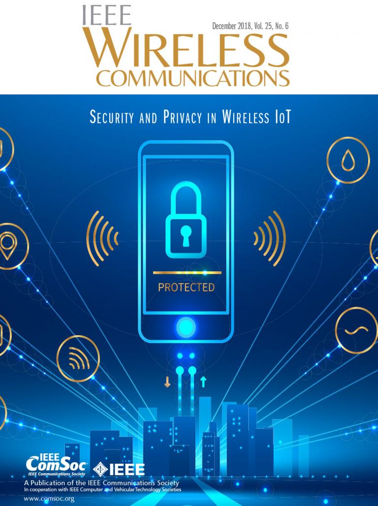 IEEE Wireless Communications December 2018 Cover