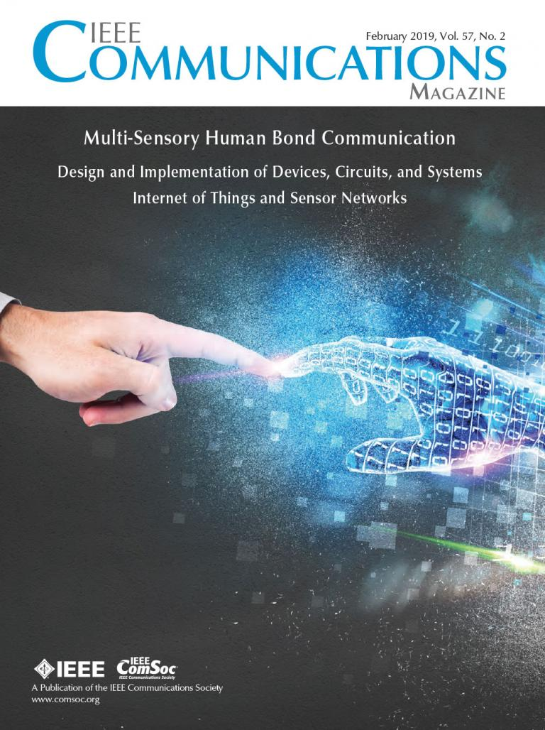 IEEE Communications Magazine February 2019 Cover